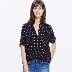 Madewell Courier Shirt Orsa Print